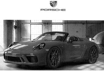 Daar is de Porsche '992' Speedster! #1