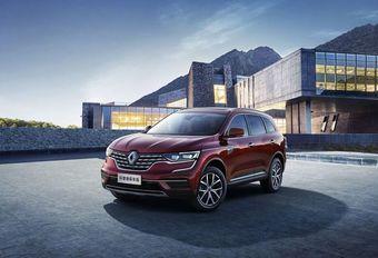 Renault Koleos: Chinese facelift #1