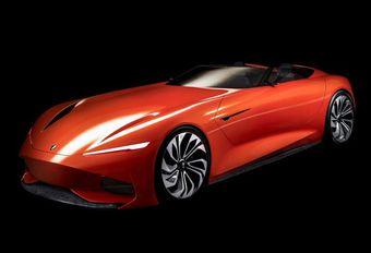 Karma SC1 Vision Concept : totalement électrique #1