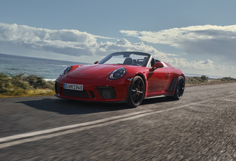 Porsche 911 (991) Speedster : New York Party #1