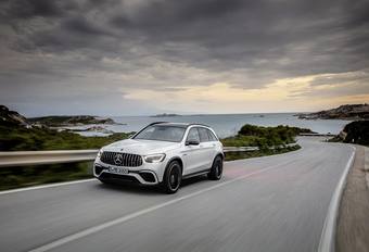 Mercedes-AMG GLC 63 : restylage du puissant SUV #1
