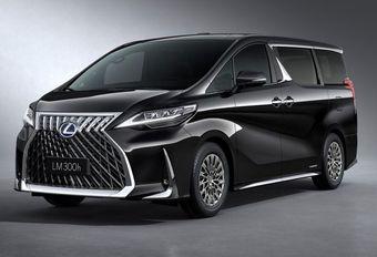 Lexus LM is hybride en hyperluxueuze vip-busje #1