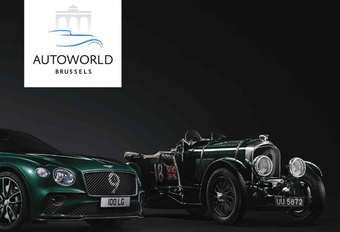 Autoworld viert 100 jaar Bentley  #1