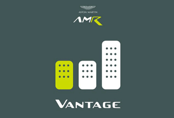 Aston Martin AMR Vantage krijgt handbak #1