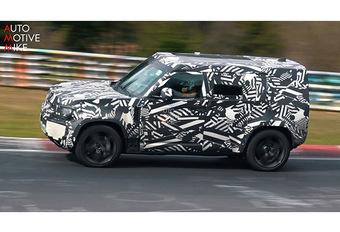Land Rover Defender: ook voor op het circuit? #1
