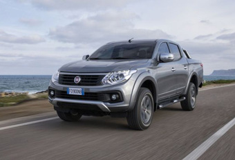 Fiat arrête le pick-up Fullback #1