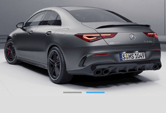 Hier is de Mercedes-AMG CLA 45! #1