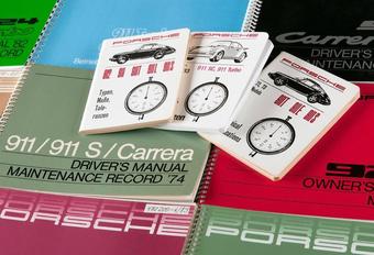 Porsche Classic herprint gebruikershandleiding oude modellen  #1