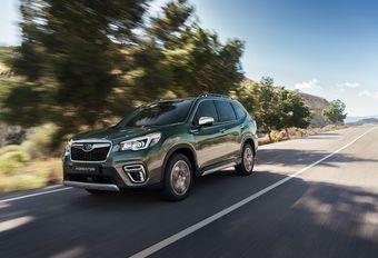Subaru: SUV's gaan hybride #1