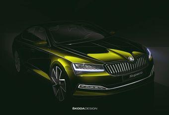 Facelift Skoda Superb met plug-inhybride tech Passat GTE #1