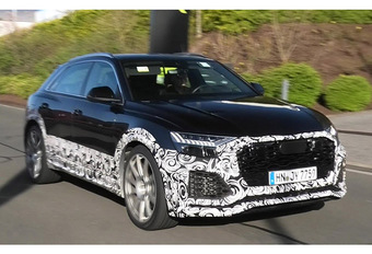 Audi RS-Q8: 670 pk? #1