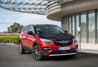 Opel Grandland X Hybrid4 : rechargeable #1