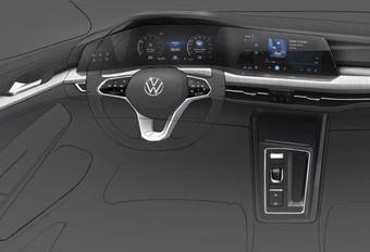 VW Golf 8 : on connaît son tableau de bord #1
