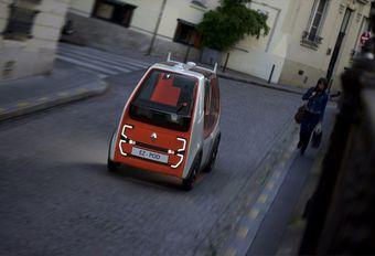 Renault EZ-Pod : mini navette autonome #1