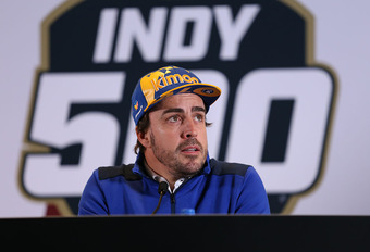 Fernando Alonso mag niet deelnemen aan Indy 500! #1