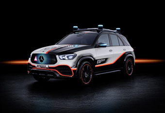 Mercedes GLE ESF 2019 Concept zet Safety First #1