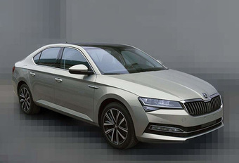 Skoda Superb: gelekt dankzij China #1