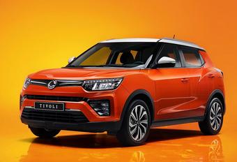 SsangYong Tivoli : peau neuve pour le SUV d'entrée de gamme #1