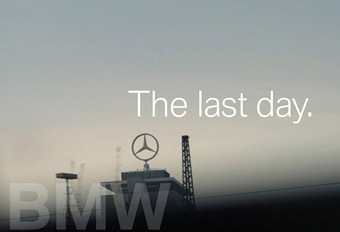 BMW zwaait Dieter Zetsche van Daimler met humor uit #1