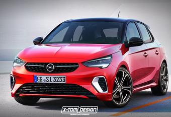 Opel Corsa : avec le badge GSi ? #1