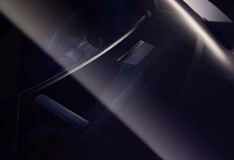 Gebogen scherm voor de BMW iNext #1