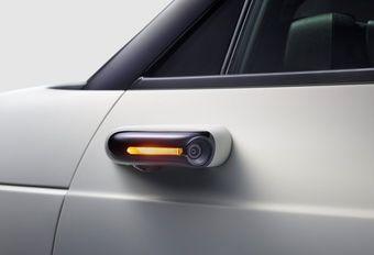 Caméras de rétrovision de série pour la Honda e #1