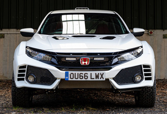 Honda Civic Type R gaat crazy als cross-over #1