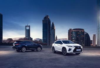 Lexus geeft RX en RX L een facelift #1
