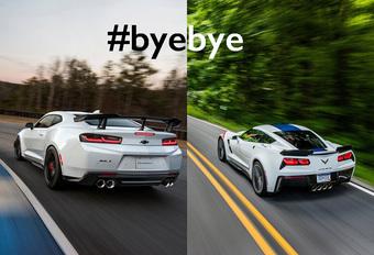 Emissienormen jagen Camaro en Corvette uit Europa #1