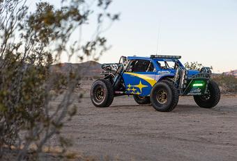 Subaru brengt het blauw en goud terug met deze Baja-racer #1