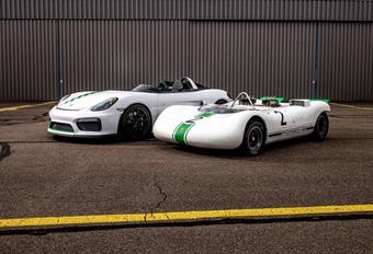 Porsche Bergspyder : Boxster Spyder extrême et cachée #1