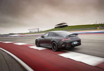 Mercedes-AMG GT 4 portes : une hybride de 800 ch #1