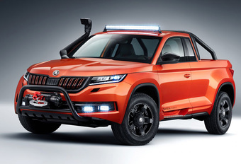 Škoda Mountiaq : le Kodiaq version pick-up #1