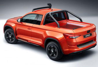 Skoda Mountiaq is coole Kodiaq pick-up #1