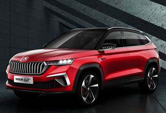Skoda Vision GT : SUV chinois plus dynamique #1