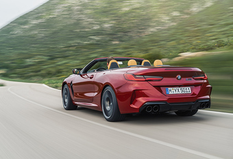 BMW M8: direct als Cabrio en Competition #1