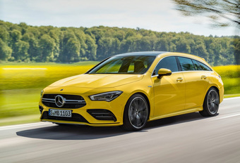 Mercedes-AMG CLA 35 4Matic : aussi en Shooting Brake #1