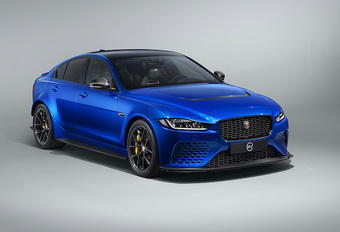 Jaguar XE SV Project 8 en variante Touring #1