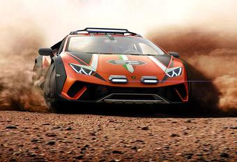 Lamborghini Huracán Sterrato concept: met V10, maar off-road #1