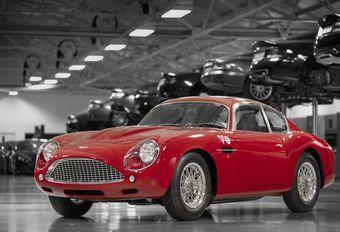 Aston Martin DB4 GT Zagato Continuation : en public #1