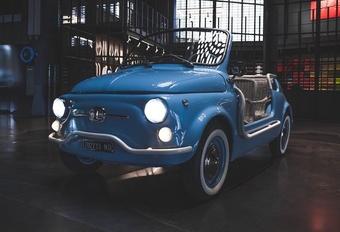 De Fiat 500 Jolly Icon-e van Garage Italia herwerkt een icoon  #1