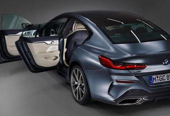 BMW 8 Gran Coupé lekt op het wereldwijde web #1