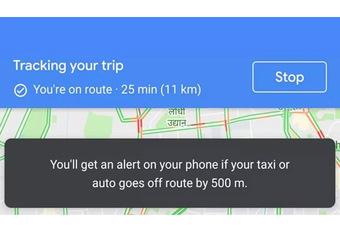 Google Maps vous dit si votre taxi vous arnaque #1