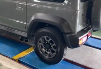 INSOLITE – Un échappement latéral pour mon Suzuki Jimny #1