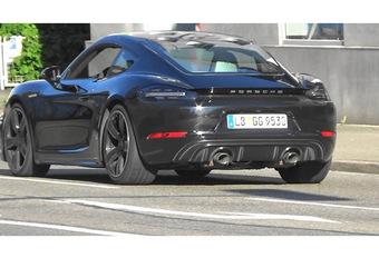 Porsche 718 Cayman : Facelift en vue #1