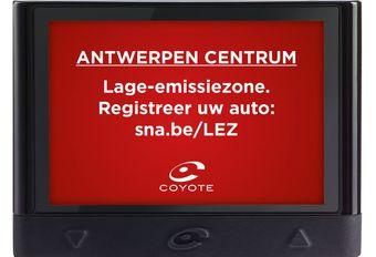 Coyote: update en LEZ-waarschuwing in Antwerpen #1