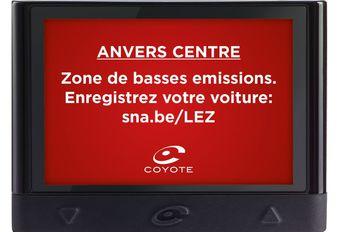Coyote : mise à jour et alerte LEZ à Anvers #1