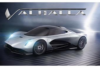 Aston Martin : la Valhalla entre la Vanquish et la Valkyrie #1