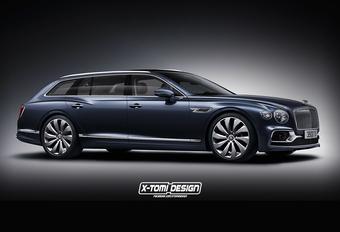 Dit is de Bentley Flying Spur die we willen, maar niet zullen krijgen #1