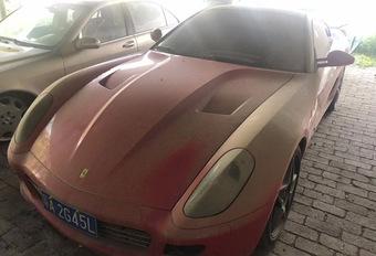 BIZAR – Een Ferrari 599 GTB voor… 220 euro? #1